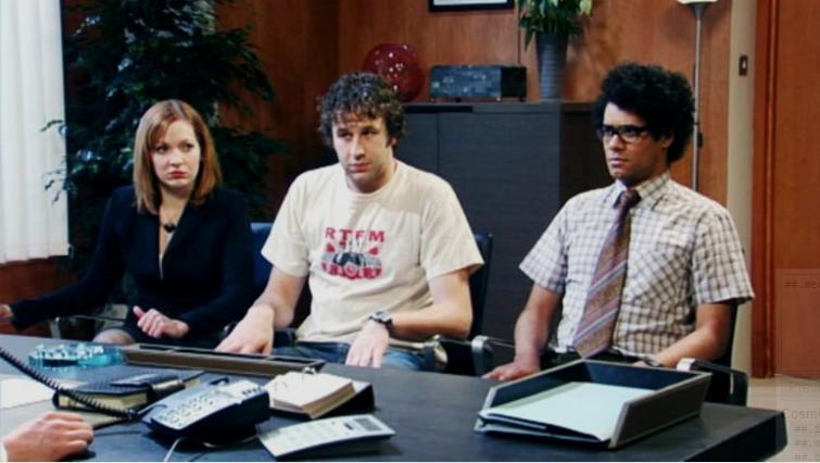 saison 1 de The IT Crowd