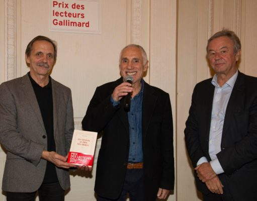 René Frégni reçoit le Prix des lecteurs Gallimard 2017.