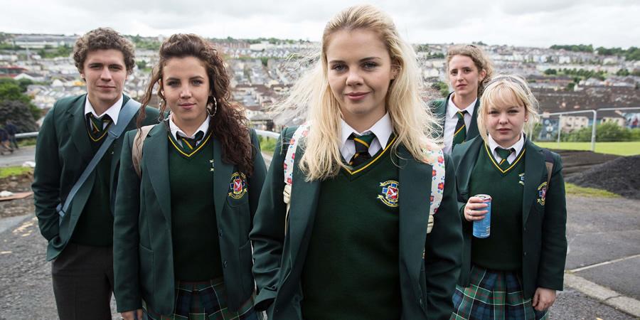 La délirante bande de Derry Girls.
